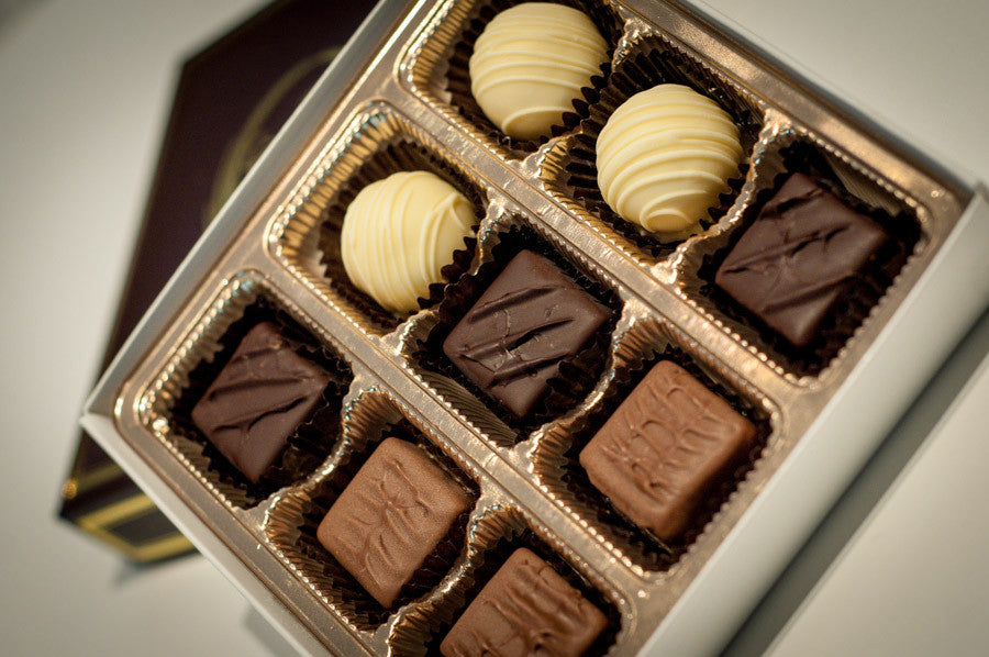 White Chocolate Truffle, Dark Chocolate Truffle, Milk Chocolate Truffle