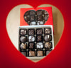 Sweet 16 Heart Chocolate Box