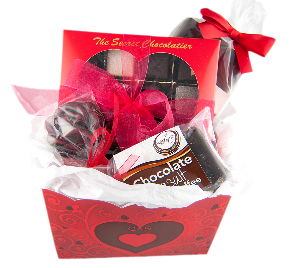 Valentine's Chocolate Gift Box 01