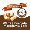 White Chocolate Toasted Macadamia Bark