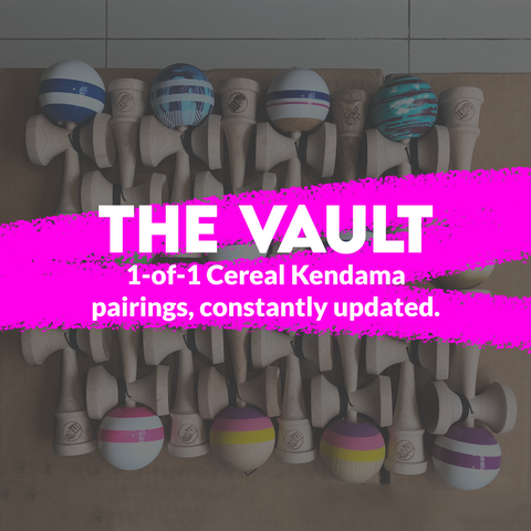 Cereal Kendama - The Vault