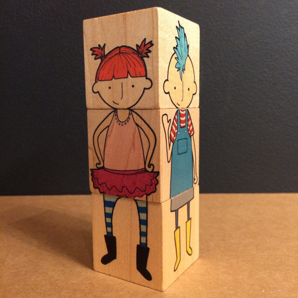 Gender Bender Blocks by Red Umbrella Designs, USA