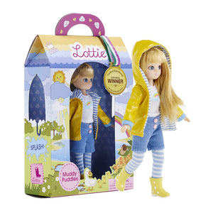 The Muddy Puddles Lottie Doll