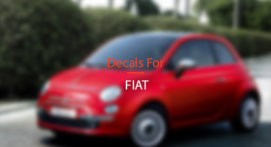 Decals for Fiat