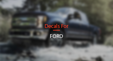 Decals For Ford