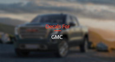DECALS FOR GMC