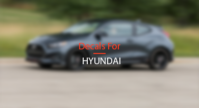 DECALS FOR HYUNDAI