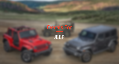 DECALS FOR JEEP