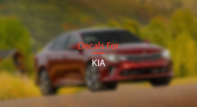 Decals for KIA
