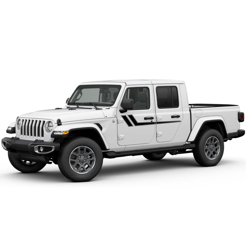 Decals Vinyl Stickers Compatible with Jeep Gladiator 2019-Present
