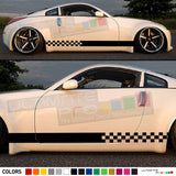Decal Sticker Side Racing Stripes Compatible with Nissan 350 Z Fairlady Z 2002-Present