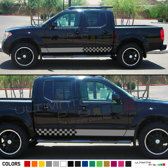 Decal Sticker Stripe for Nissan Frontier 3rd 2nd generation 2014-Present