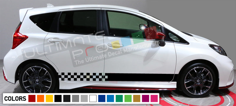 Decal Vinyl Stripes For Nissan Note 2003-Present