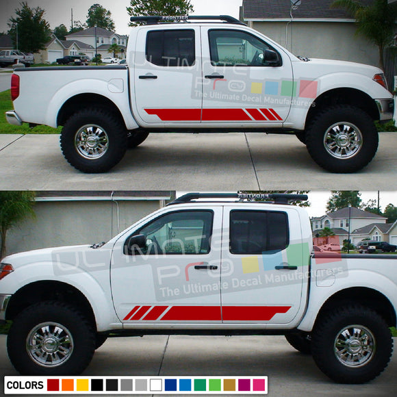 Sticker Stripe for Nissan Frontier 3rd 2nd generation 2014-Present