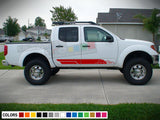 Mountain Sticker Stripe for Nissan Frontier 3rd 2nd generation 2014-Present
