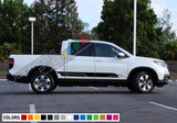 Decal Mountain Stickers Stripe Kit Compatible with Honda Ridgeline 2016-Present