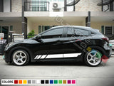Decal Sticker Side Sport Stripe Kit Compatible with Honda HRV 2014-Present