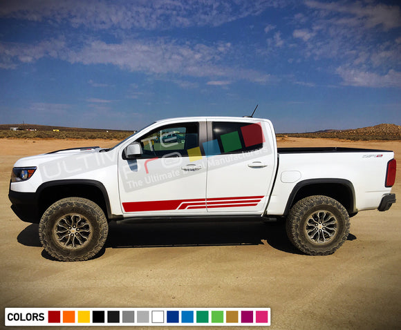 Sticker decal, vinyl design for Chevrolet Colorado decal 2012 - Present