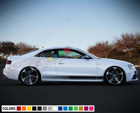 Decal Sticker Vinyl Stripe Kit Compatible with Audi A5 2008-Present