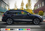 Decal Stickers Stripe Vinyl Kit Compatible with Audi Q7 2008-Present