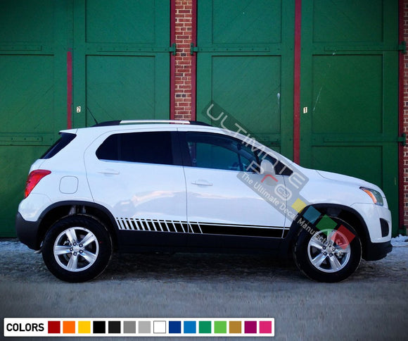 Sticker design vinyl  for Chevrolet Trax decal 2015 - Present