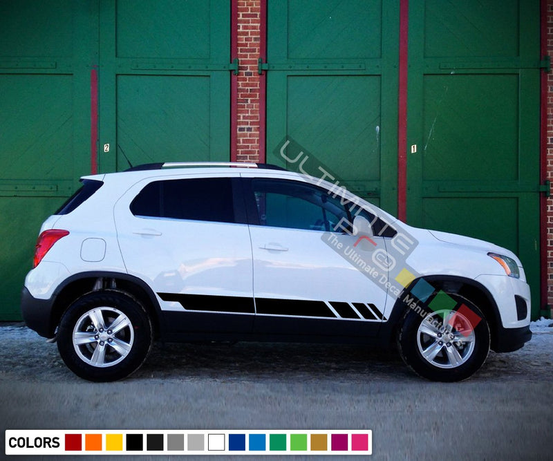 Sticker decal design vinyl  for Chevrolet Trax decal 2015 - Present