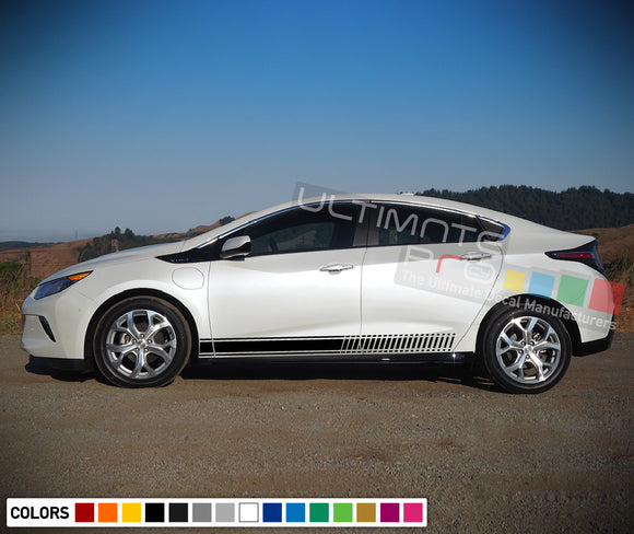 Sticker decals design vinyl  for Chevrolet Volt decal 2015 - Present