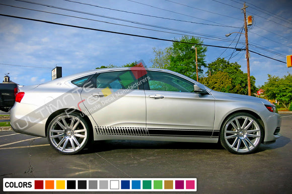 Decals Stripe vinyl design for Chevrolet Impala decal 2015 - Present
