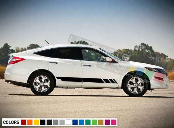 Decal Stickers Stripe Kit Compatible with Honda Crosstour 2016-Present