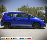 Decal Stickers Vinyl Stripe Compatible with Honda Fit 2016-Present