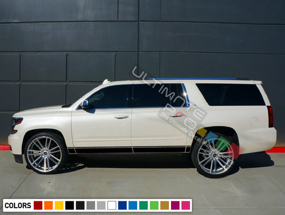 Decals Stripe design for Chevrolet Suburban decal 2015 - Present