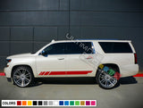 Stripes Decals for Chevrolet Suburban decal 2015 - Present