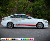Decal Sticker Racing Stripe Compatible with Hyundai Genesis 2009-Present