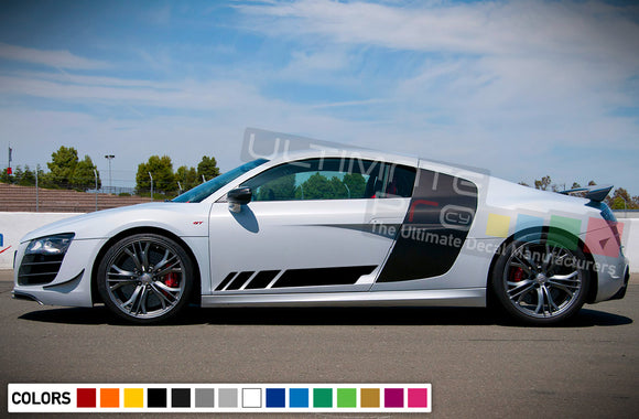 Decal Stickers Stripe Vinyl Kit Compatible with Audi R8 2008-Present