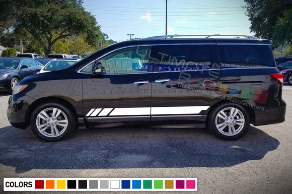 Decal Stripes Vinyl Compatible Nissan Quest 2003-Present