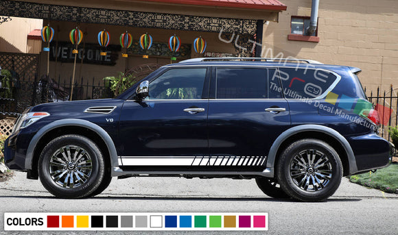 Decal Stripes For Nissan Armada 2003-Present
