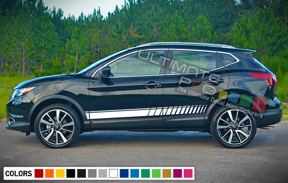 Decal Stripes Vinyl For Nissan Rogue 2003-Present