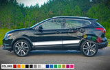 Decal Stripes For Nissan Rogue 2003-Present