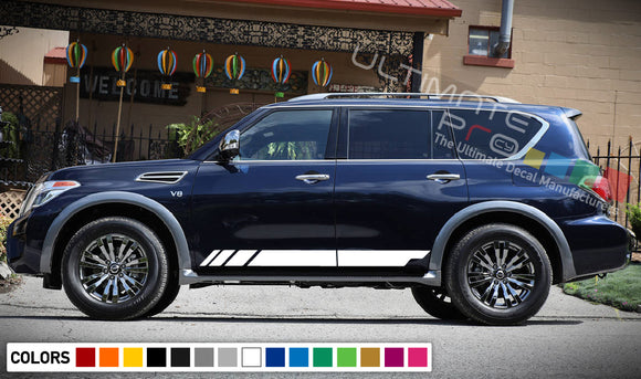 Decal Stripes Vinyl For Nissan Armada 2003-Present