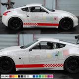 Sport Side Stripes Decal Vinyl Compatible with Nissan 370Z Fairlady NISMO 2012-Present