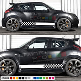 Sticker Vinyl Side Stripes Compatible with Nissan Juke 2010-Present