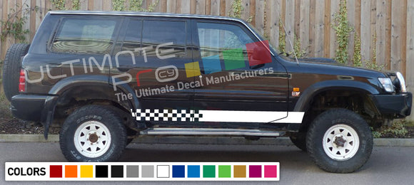 Decal Stripes Compatible Nissan Patrol 2003-Present