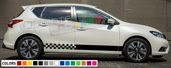 Decal Stripes Compatible Nissan Pulsar 2003-Present