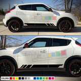 Sticker Vinyl Side Sport Stripes Compatible with Nissan Juke 2010-Present
