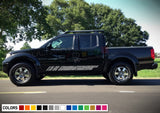 Distressed Sticker Stripe for Nissan Frontier 3rd 2nd generation 2014-Present