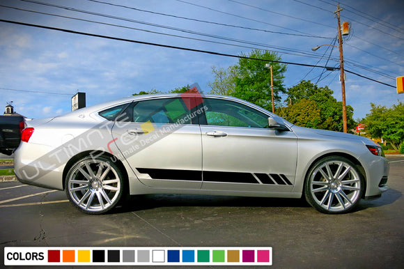 Decals Stripe design for Chevrolet Impala decal 2015 - Present