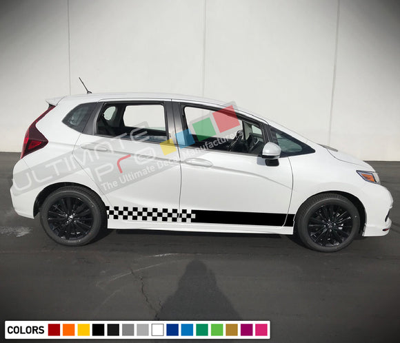Decal Sticker Vinyl Stripe Compatible with Honda Fit 2016-Present