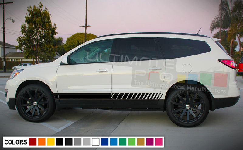 Sticker , vinyl design for Chevrolet Traverse decal 2015 - Present