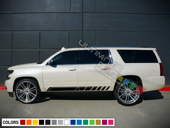 Stripes Decals design for Chevrolet Suburban decal 2015 - Present