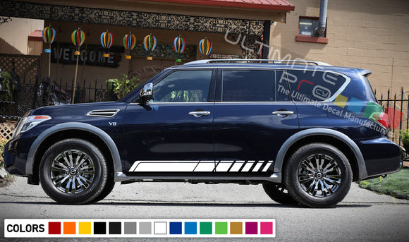 Decal Vinyl Stripes For Nissan Armada 2003-Present